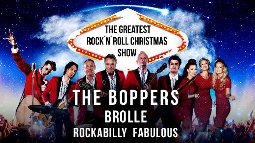 Bild för THE BOPPERS, BROLLE & ROCKABILLY FABULOUS, 2021-12-18, Konserthuset