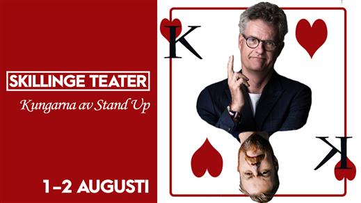 Bild för STAND UP MED ADDE & KRISTOFFER, 2019-08-02, Skillinge Teater