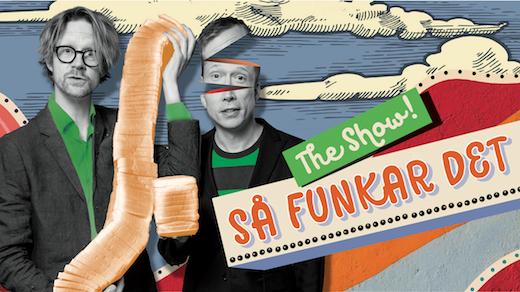 Bild för Så funkar det - The show! Med Anders och Måns, 2020-03-13, Vävenscenen