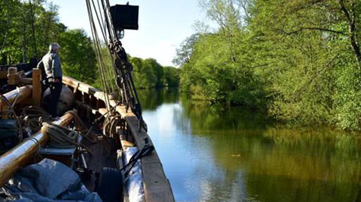 Bild för Med Sunbeam till Wiks slott 1 juni, 2021-06-01, Forskningsfartyget Sunbeam
