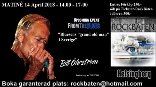 Bild för Bill Öhrström + Top Dogs@RockBåten, 2018-04-14, RockBåten M/S Harmony