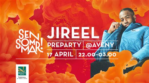 Bild för Jireel | Aveny, Sundsvall - Sensommar Preparty, 2020-04-17, Aveny Sundsvall