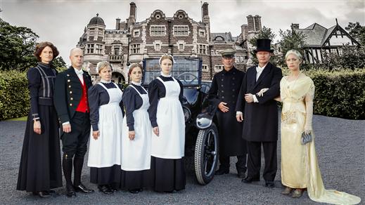 Bild för Visning: Dräkter från Downton 19 feb 13.00, 2017-02-19, Tjolöholms Slott