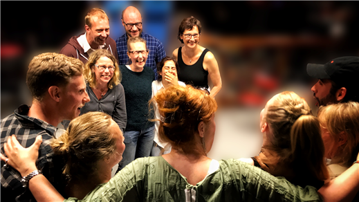 Bild för Varannan vecka, impro steg två, mån 19.15-21.15, 2018-01-22, Kvartersscenen 2Lång