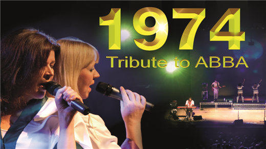 Bild för 1974 TRIBUTE TO ABBA - GREATEST HITS, 2017-10-13, Idun, Umeå Folkets Hus
