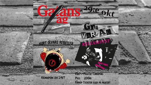 Bild för Gatans Lag, Kurt Olvars Rebeller & Grå Vardag, 2021-10-29, Palatset