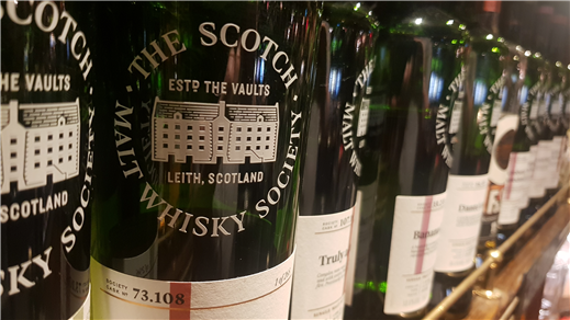 Bild för Scotch Malt Whisky Society, 2020-11-25, Elite Stadshotellet Eskilstuna