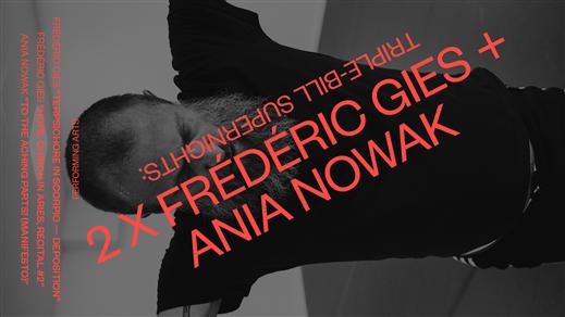 Bild för Triple-bill supernights: 2xFrédéric Gies + A.Nowak, 2021-09-25, Inkonst salong