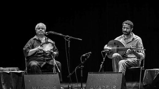 Bild för 170331 Tarek Abdallah & Adel Shams El-Din, 2017-03-31, Stallet - Världens Musik