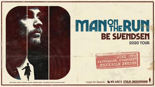 Bild för Be Svendsen w/ 'Man On The Run' 2020 tour, 2021-09-04, Slaktkyrkan