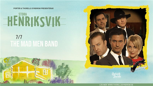 Bild för The Mad Men Band, 2021-07-07, Stora Henriksvik
