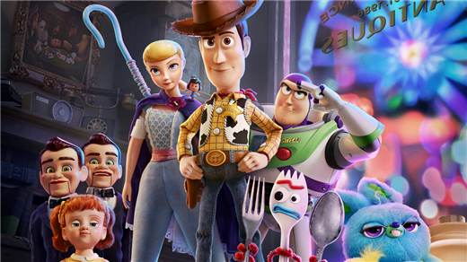 Bild för Toy Story 4 2D (Sv. tal), 2019-08-30, Emmaboda Folkets Hus
