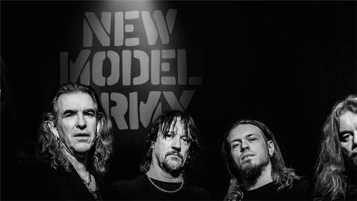 Bild för NEW MODEL ARMY, 2017-03-23, Sticky Fingers