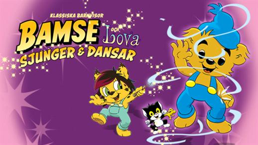Bild för Bamse och Lova 14.00, 2021-11-28, UKK - Stora salen