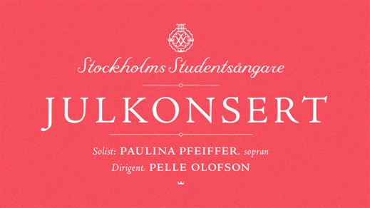 Bild för Julkonsert m Stockholms Studentsångare 16/12 kl 20, 2019-12-16, S:t Johannes kyrka
