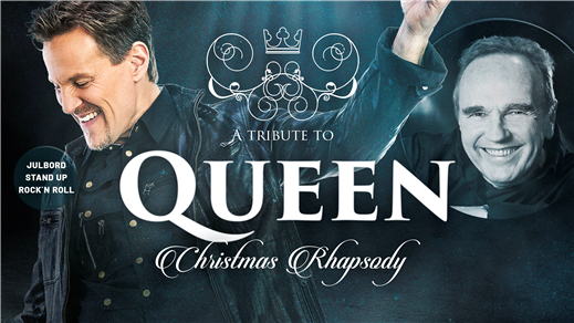 Bild för Christmas Rhapsody - A Tribute To Queen + Stand up, 2021-12-09, Apollon, Folkets Hus Kulturhuset