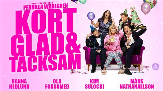 Bild för Pernilla Wahlgren - Kort, glad och tacksam, 2019-03-03, Draken (M)