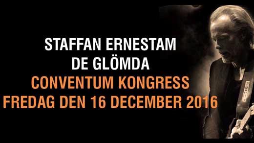 Bild för Staffan Ernestam - De Glömda, 2016-12-16, Conventum Kongress