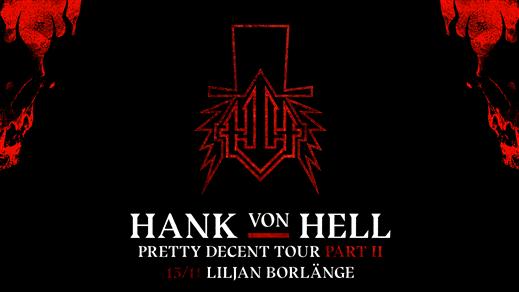 Bild för Hank Von Hell på Liljan, 2019-11-15, Liljan