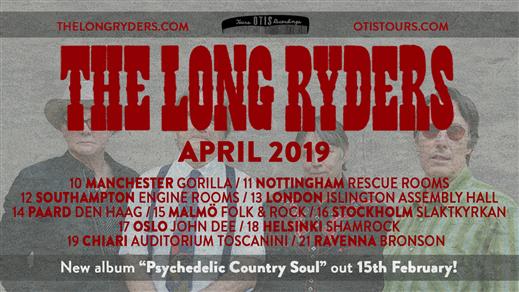 Bild för The Long Ryders, 2019-04-16, Slaktkyrkan
