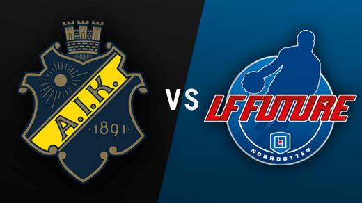 Bild för AIK - LF Future, 2016-10-01, Solnahallen