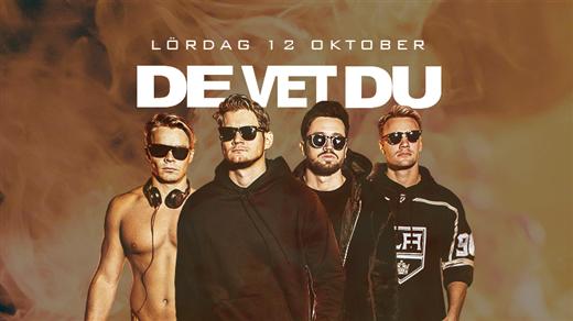 Bild för De Vet Du / Lördag 12 Oktober / Puls Nattklubb, 2019-10-12, Puls Nattklubb
