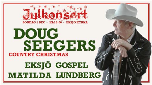 Bild för Julkonsert Doug Seegers Country Christmas, 2019-12-01, Eksjö kyrka