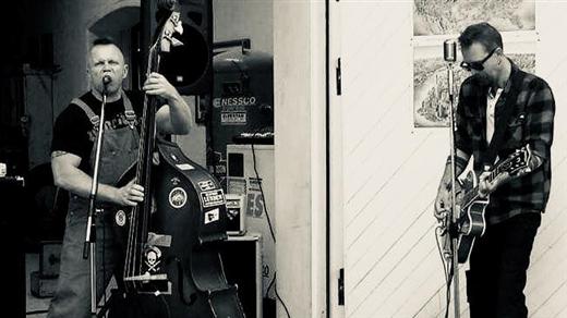 Bild för Rob´s Rockin´ Blues Combo, 2018-04-29, Café Gula Huset