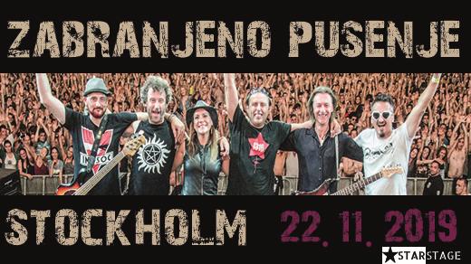 Bild för ZABRANJENO PUSENJE - STOCKHOLM, 2019-11-22, Fryshuset - Klubben