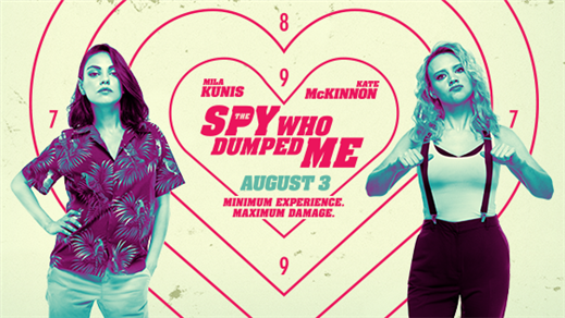 Bild för The Spy Who Dumped Me, 2018-09-02, Bio Oskar