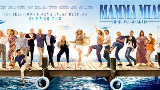 Bild för Mamma Mia! Here We Go Again, 2018-08-10, Bio Oskar