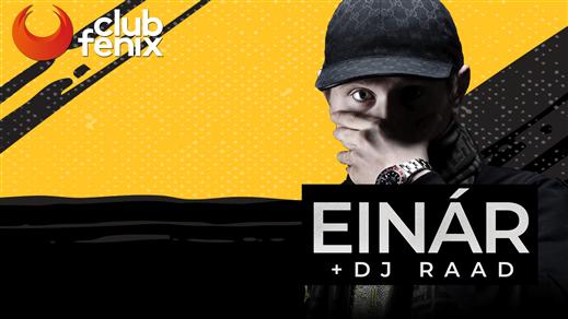 Bild för Club Fenix - Einár (ålder 18+), 2019-06-29, Halmstad Live
