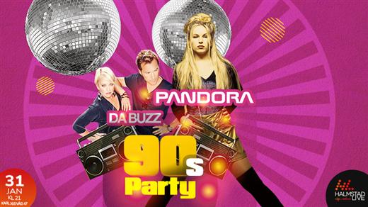 Bild för 90-talsparty feat. Da Buzz och Pandora, 2020-01-31, Halmstad Live