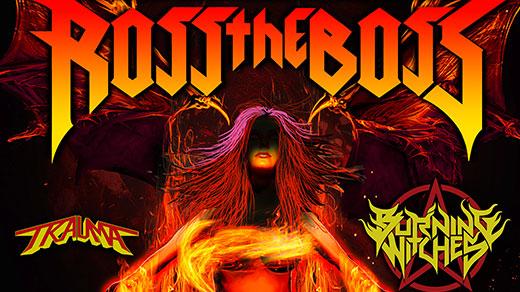 Bild för Ross the Boss + Burning Witches, 2020-11-17, Hus 7