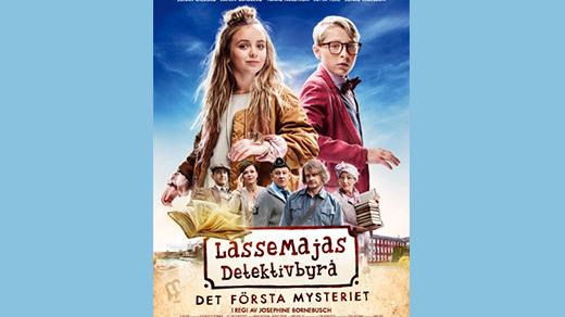 Bild för LasseMajas Detektivbyrå Det första mysteriet (7 år, 2018-06-01, Biosalongen Folkets Hus