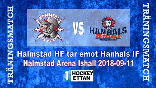 Bild för Träningsmatch Hammers vs. Hanhals IF, 2018-09-11, Halmstad Arena