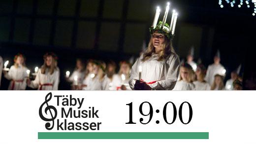 Bild för Luciakväll med Täby Musikklasser kl.19:00, 2018-12-09, Täby Sportcentrum