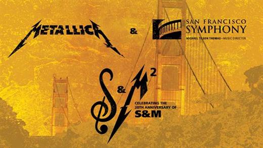 Bild för Metallica & San Francisco Symphony: S&M, 2019-10-09, Kulturhuset i Svalöv