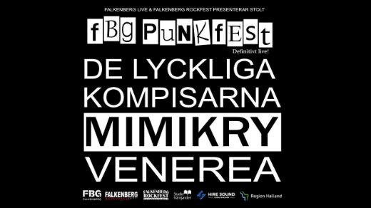 Bild för FBG PUNKFEST 2021, 2021-11-27, Falkhallens Blackbox