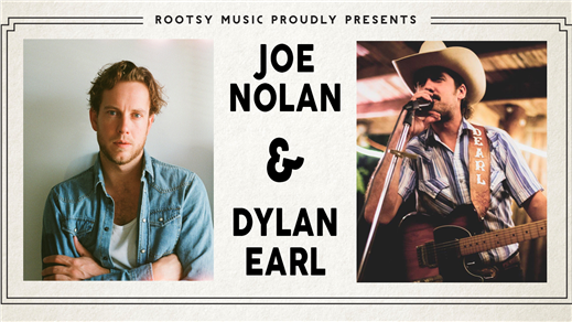 Bild för Dylan Earl (US) + Joe Nolan (US), 2020-02-22, Folk Å Rock