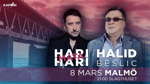 Bild för Halid Beslic & Hari Mata Hari - Malmö, 2019-03-08, Slagthuset