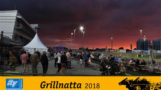 Bild för Grillnatta, 2018-08-02, Åby travbana