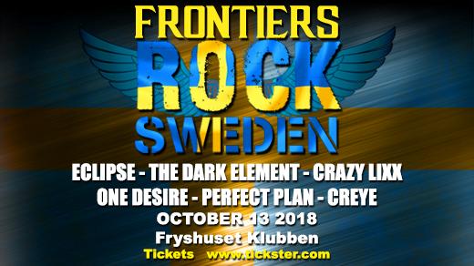 Bild för Frontiers Rock Sweden, 2018-10-13, Fryshuset Klubben