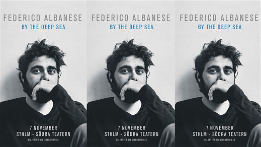 Bild för Federico Albanese, 2018-11-07, Södra Teaterns Stora Scen