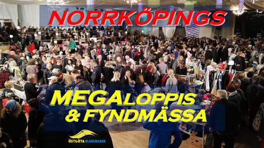 Bild för Norrköpings Megaloppis & Fyndmässa upplaga 1, 2021-10-10, Borgen Norrköping