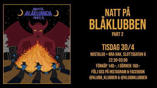 Bild för KLUBBEN - BLÅKLUBBEN Pt 2, 2019-04-30, Nostalgii Functional Club