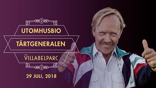 Bild för Utomhusbio - Tårtgeneralen, 2018-07-29, Villa Belparc