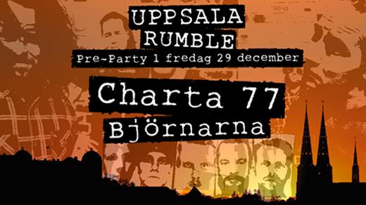 Bild för Uppsala Rumbles Pre-Party Charta 77 & Björnarna, 2017-12-29, Katalin