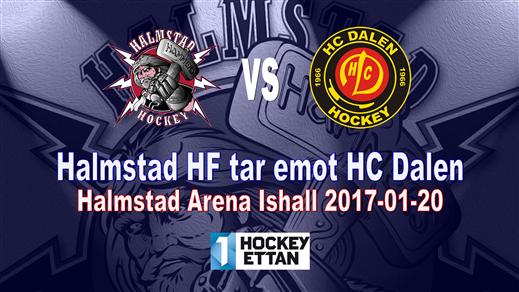 Bild för Halmstad HF vs. HC Dalen, 2017-01-20, Halmstad Arena