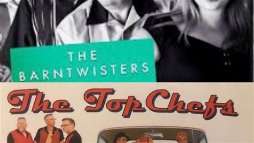 Bild för 50-talskväll med The Barntwisters & The Top Chefs, 2019-12-13, Saga Salongen Torshälla